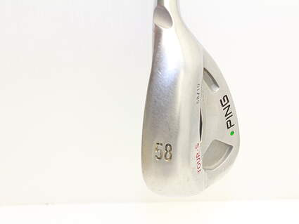 Ping Tour Gorge Wedge Lob LW 58* 10 Deg Bounce S Grind Stock Steel Shaft Steel Regular Right Handed 36 in