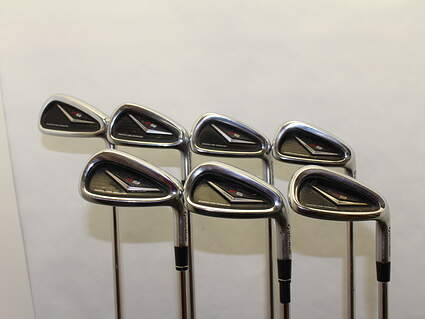 TaylorMade R9 Iron Set 4-PW FST KBS 90 Steel Regular Right Handed 38.75 in