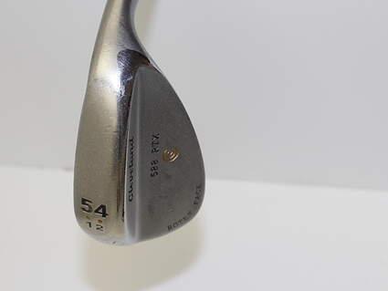 Cleveland 588 RTX Satin Chrome Wedge Sand SW 54* 12 Deg Bounce Stock Steel Shaft Steel Wedge Flex Right Handed 35.5 in