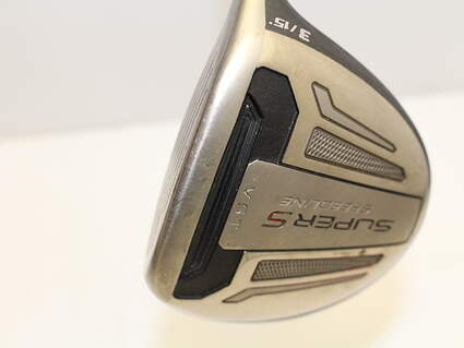 Adams Speedline Super S Black Fairway Wood 3 Wood 3W 15* Stock Graphite Shaft Graphite Stiff Right Handed 43 in