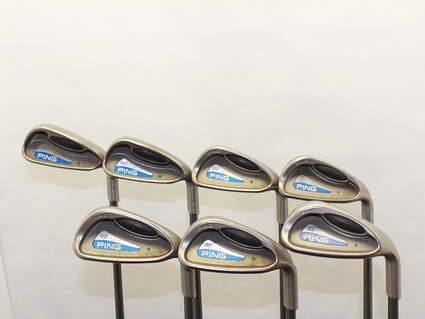 Ping G2 Iron Set 4H 5H 6-PW Ping TFC 100I Graphite Regular Right Handed 37.5 in