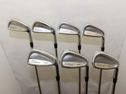 Titleist 690.CB Forged Iron Set 4-PW True Temper Dynamic Gold 300 Steel Stiff Right Handed 38 in