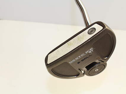 Odyssey White Ice 2-Ball Putter Stock Steel Shaft Steel Right Handed 34 in