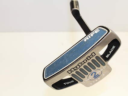 Guerin Rife Two Bar Hybrid Tour Blade Putter Face Balanced Stock Steel Shaft Steel Right Handed 34.75 in