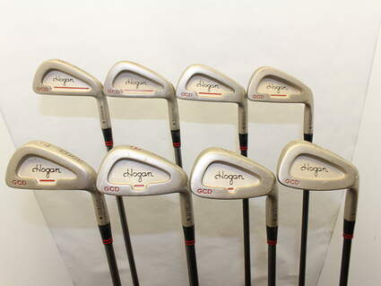 Ben Hogan Edge GCD Iron Set 3-PW Stock Graphite Shaft Graphite Stiff Right Handed 38 in