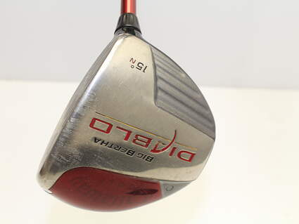 Callaway Big Bertha Diablo Fairway Wood 3 Wood 3W 15* Stock Graphite Shaft Graphite Stiff Right Handed 43 in