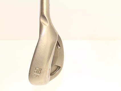 Ping Tour Gorge Wedge Lob LW 54* Standard Sole Ping CFS Steel Stiff Right Handed Black Dot 35.5 in