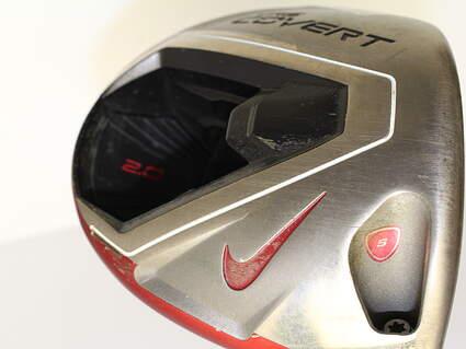 Nike VRS Covert 2.0 Driver 10.5* Mitsubishi Kuro Kage Black 50 Graphite Stiff Right Handed 45.5 in