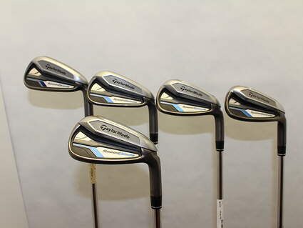 TaylorMade Speedblade Iron Set 6-PW Dynamic Gold XP X100 Steel X-Stiff Right Handed 38 in