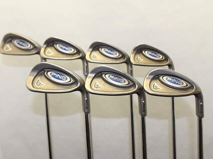 Ping i5 Iron Set 4-PW True Temper Dynamic Gold R300 Steel Regular Right Handed White Dot 38.5 in