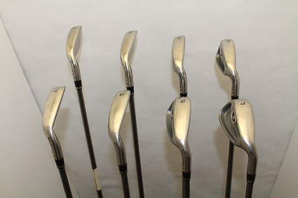 TaylorMade R7 XD Iron Set 3-PW Stock Graphite Shaft Graphite Stiff Right Handed 38 in