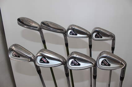 Adams Idea A2 Iron Set 3H 4H 5-PW True Temper Player Lite Steel Regular Right Handed 38.5 in