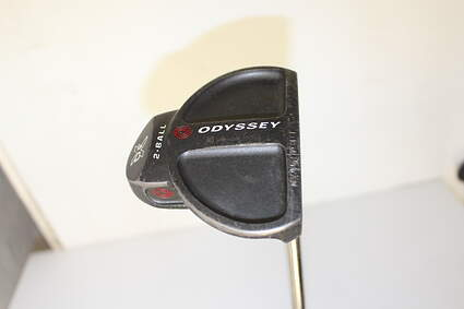 Odyssey DFX 2-Ball Center Shaft Putter Face Balanced Stock Steel Shaft Steel Right Handed 33.75 in