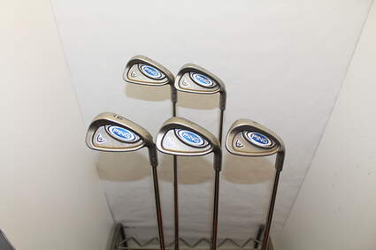 Ping i5 Iron Set 6-PW Stock Steel Shaft Steel Stiff Right Handed Blue Dot 37.75 in