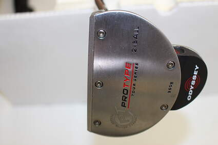 Odyssey Protype Tour 2-Ball Putter Stock Steel Shaft Steel Right Handed 32 in