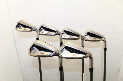 Callaway X Series N415 Iron Set 5-PW Stock Graphite Shaft Graphite Regular Right Handed 38.5in