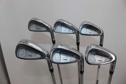 TaylorMade Rac LT Iron Set 5-PW Stock Steel Shaft Steel Stiff Right Handed 38.25 in
