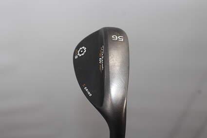 Titleist Vokey SM5 Raw Black Lob LW 56° 10 Deg Bounce S Grind Titleist SM5 BV Steel Wedge Flex Right Handed 35.0in