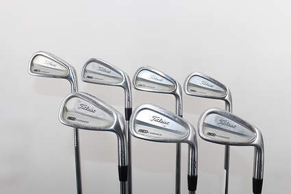 Titleist 712 CB Iron Set 4-PW True Temper Dynamic Gold S300 Steel Stiff Right Handed 37.75in