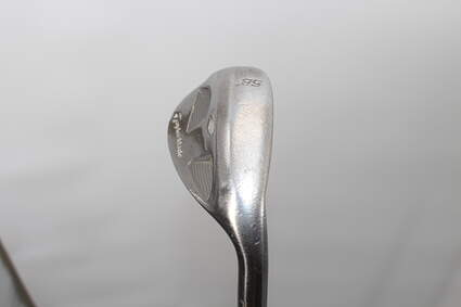 TaylorMade Rac Satin Tour TP Wedge Lob LW 58° 8 Deg Bounce Rifle Flighted 5.0 Steel Regular Right Handed 36.25in