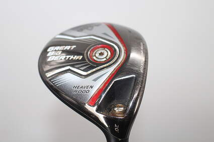Callaway 2015 Great Big Bertha Fairway Wood 7 Wood 7W 20° Mitsubishi Rayon Fubuki Graphite Stiff Right Handed 43.0in