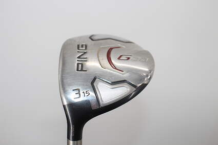 Ping G20 3 Wood 3W 15° Ping TFC 169F Graphite Regular Left Handed 42.75in