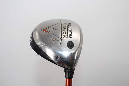 Callaway Big Bertha Fusion 4 Wood 4W 17° Aldila NVS 55 Graphite Senior Right Handed 42.25in
