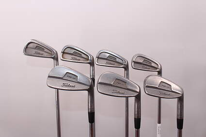 Titleist 735.CM Stainless Iron Set 4-PW True Temper Dynamic Gold S300 Steel Stiff Right Handed 39.0in