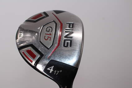 Ping G15 4 Wood 4W 17° Ping TFC 149F Graphite Stiff Right Handed 42.5in