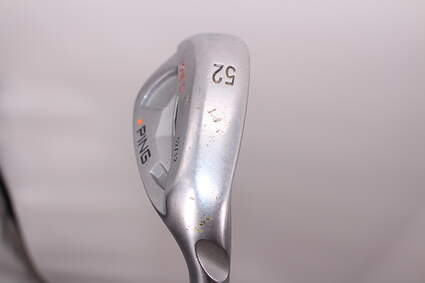 Tour Issue Ping Tour-S Chrome Wedge Gap GW 52° 12 Deg Bounce T Grind Ping AWT Steel Wedge Flex Right Handed Orange Dot 35.75in