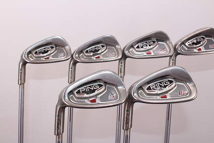 Ping i15 Iron Set 5-PW Project X Pxi 5.0 Steel Regular Left Handed Green Dot 39.0in