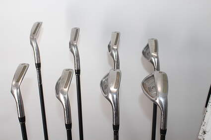 TaylorMade 360 Iron Set 5-PW GW SW TM R-80 Steel Graphite Lite Right Handed 38.0in