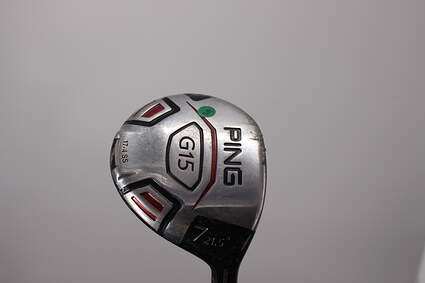 Ping G15 Fairway Wood 7 Wood 7W 21.5° Ping TFC 149F Graphite Soft Regular Right Handed 42.0in