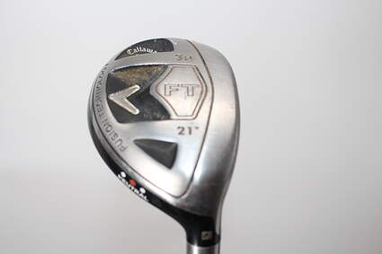Callaway 2008 FT Hybrid Hybrid 3 Hybrid 21° Cobra Fujikura Motore Black FW Graphite Regular Right Handed 41.5in