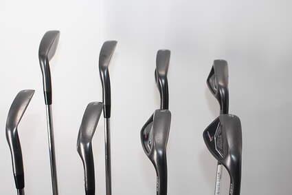 Cobra KING Black Forged Tec Iron Set 4-PW GW FST KBS $-Taper Steel Stiff Right Handed 38.5in