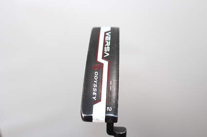 Odyssey Versa #2 Black White Black Putter Putter Steel Right Handed 34.0in