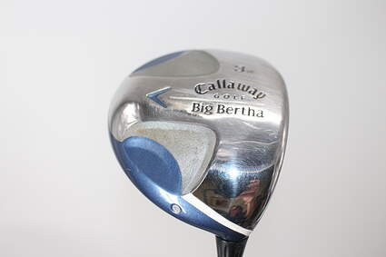 Callaway 2008 Big Bertha Ladies Fairway Wood 3 Wood 3W Callaway Stock Graphite Graphite Ladies Right Handed 42.75in