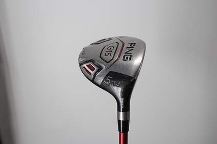 Ping G15 Draw Fairway Wood 5 Wood 5W 18.5° Ping TFC 149F Graphite Regular Right Handed 42.5in