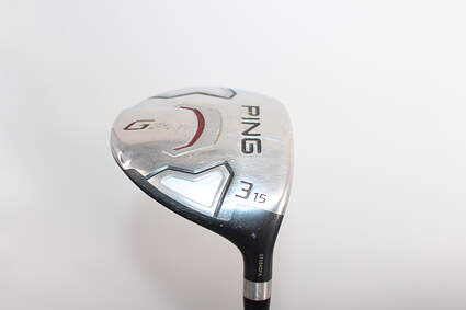 Ping G15 Draw Fairway Wood 3 Wood 3W 15° Ping TFC 169F Graphite Soft Regular Right Handed 43.0in