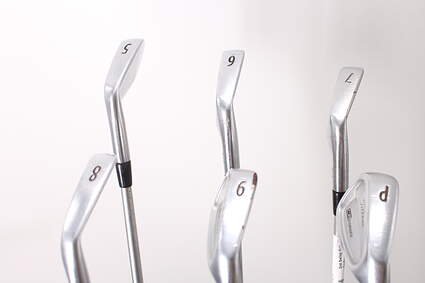 Titleist 712 CB Iron Set 5-PW Stock Graphite Shaft Graphite Stiff Right Handed 38.0in