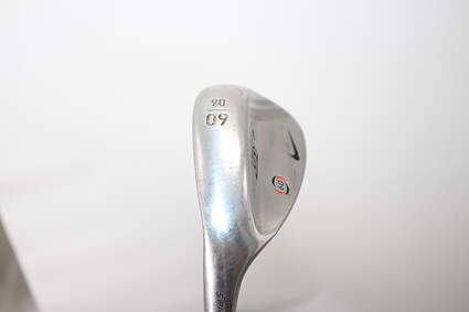 Nike SV Tour Chrome Wedge Lob LW 60° 6 Deg Bounce Stock Steel Shaft Steel Regular Left Handed 34.75in