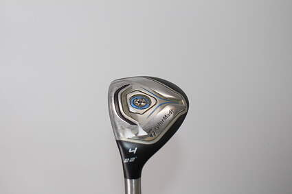 TaylorMade Jetspeed Hybrid 4 Hybrid 22° TM Matrix VeloxT 65 Graphite Regular Left Handed Red dot 40.5in