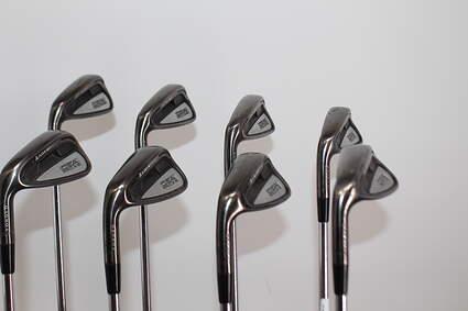 Adams Idea Pro A12 Iron Set 4-GW FST KBS Tour Steel Stiff Left Handed 37.5in