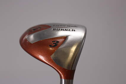 TaylorMade 1998 Burner Fairway Wood 3 Wood 3W Stock Graphite Shaft Graphite Regular Right Handed 43.0in