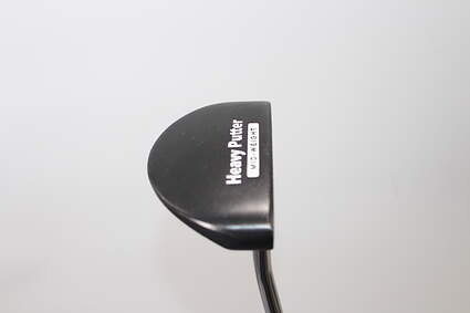 Heavy Putter H3 Mid Weight Black Putter Steel Right Handed 34.0in