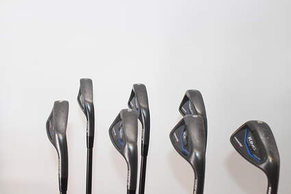 Cobra KING BLK Forged Tec One Length Iron Set 5-GW True Temper AMT Black S300 Graphite Stiff Right Handed 37.0in