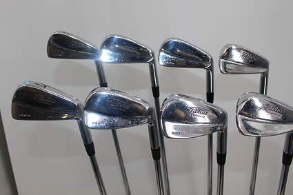 Titleist 690 MB Forged Iron Set 3-PW True Temper Dynamic Gold S300 Steel Stiff Right Handed 37.75in