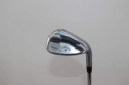 Callaway Apex Single Iron Pitching Wedge PW Nippon NS Pro Zelos 7 Steel Stiff Right Handed Silver Dot 37.25in