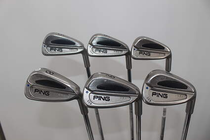 Ping S59 Iron Set 5-PW Stock Steel Shaft Steel Stiff Right Handed 38.5in