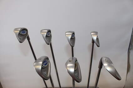 Ping i5 Iron Set 5-PW SW Stock Steel Shaft Steel Right Handed Red dot 37.75in